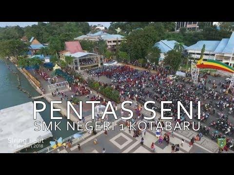 [Documentary]  Pentas Seni SMKN 1 Kotabaru, Siring Laut 16 Februari 2018
