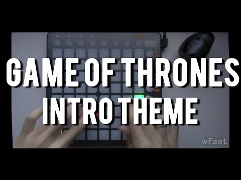 Game of Thrones Intro theme   Launchpad S Cover - (Project File by WhySoFast)