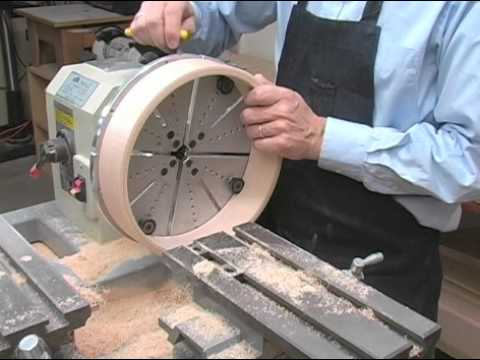 Hickler Banjo Making: Rim Lathe Part 2