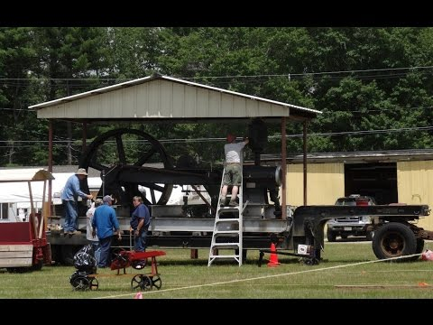 Orange, Massachusetts Show 2015 Steam, Gas Engines, and Machinery Sights and Sounds