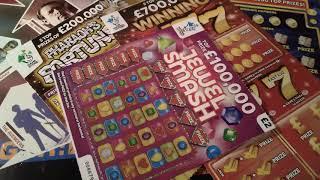 Scratchcards..ROLL OVER-6.....£40.00 worth of cards...Here we GoooooOOOO!!!