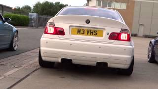 BMW E46 M3 Exhaust comparison - Eisenmann V Supersprint V OEM