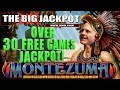 😱 OVER 30 FREE GAMES! MONTEZUMA JACKPOT! 🔥