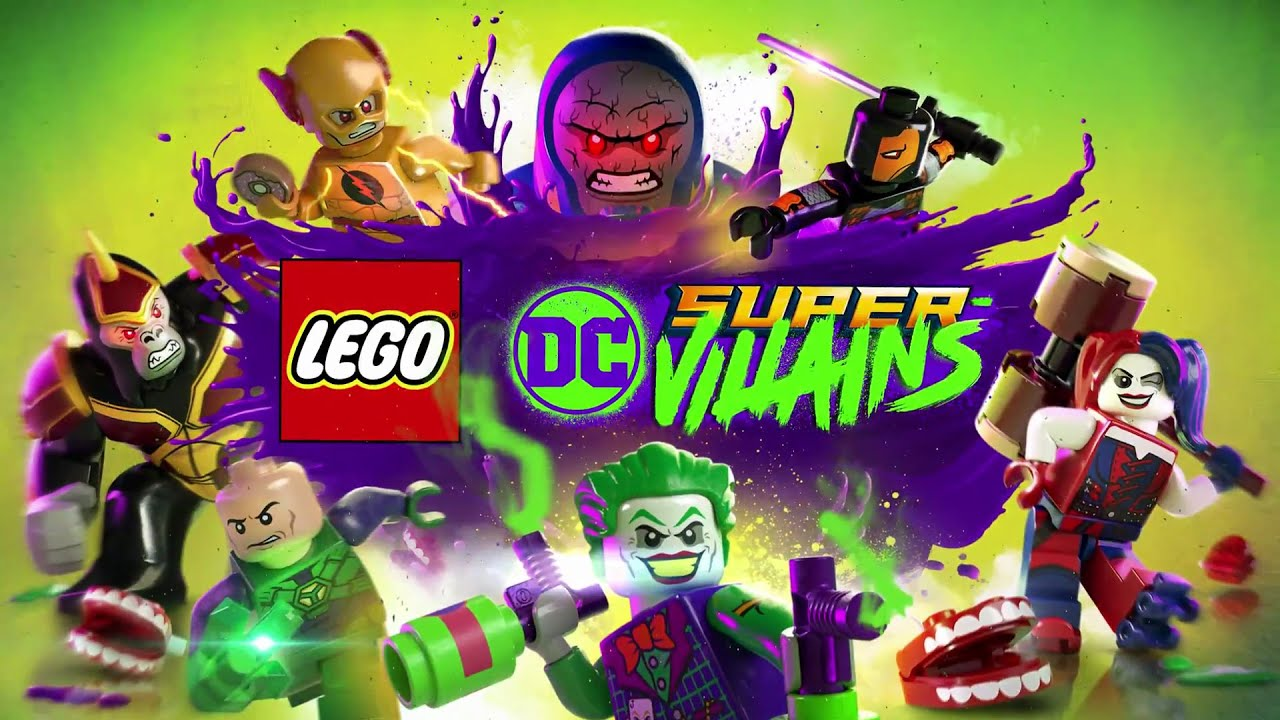 """Here we go"" LEGO DC Super Villains #1"