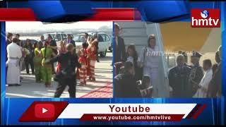 Brazil President Jair Bolsonaro arrives in New Delhi || Republic Day 2020 | hmtv
