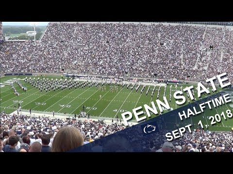 Penn State Blue Band Halftime show   Sept  1, 2018