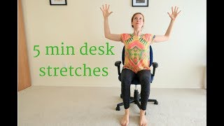Yoga at your Desk: 5 minute Seated Stretches
