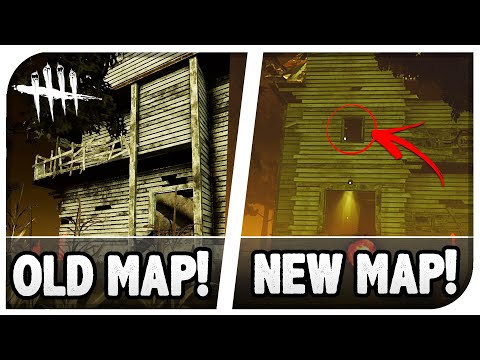 Dead By Daylight - DBD New Map Changes & Layout Exploration! - Exploring The Changed Maps! (DBD PTB)
