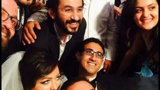 معكم مني الشاذلي | تعرف علي قصة  الشاب شبية الفنان احمد حلمي ..و ماذا فعل حلمي له في زفافة ؟؟