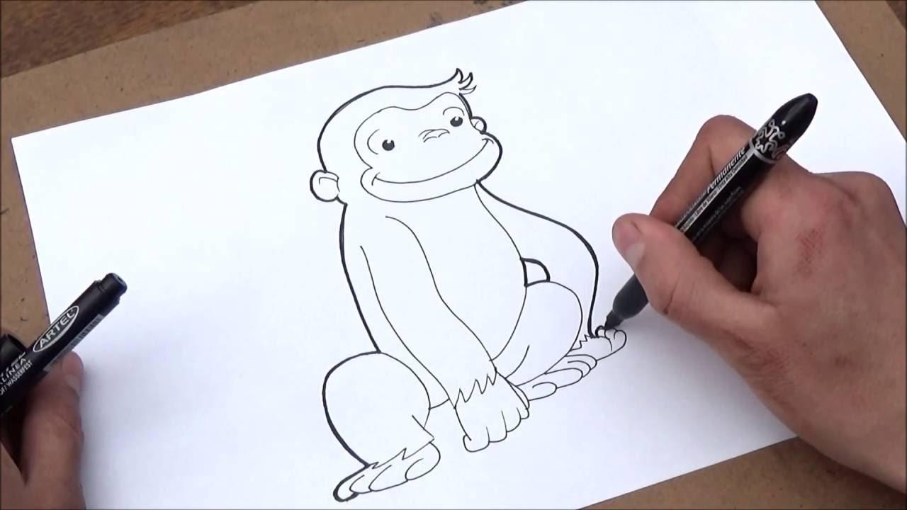 Come Disegnare Curioso Come George Come Disegnare Curioso Come George Passo Dopo Passo