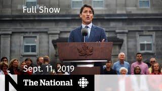 The National for September 11, 2019