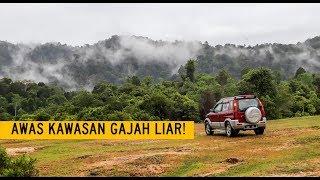 Wild Camping Malaysia- Habitat HIDUPAN LIAR Tasik Bersia Gerik