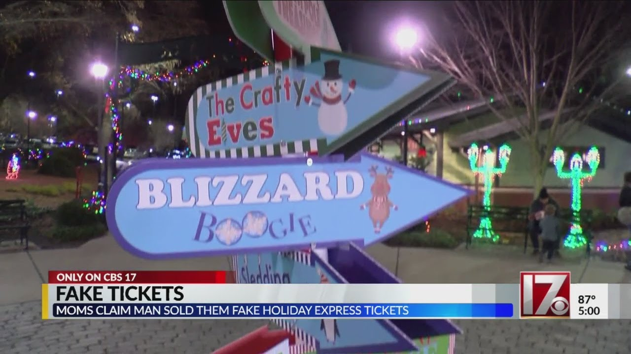 Pullen Park Christmas 2019.Fake Tickets For Pullen Park Holiday Express Floating Around