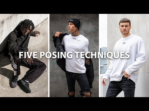 How To POSE A MALE Model For Portrait Or Fashion Photography