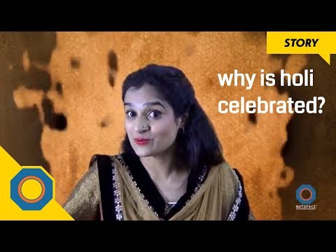 Story Of Holi | Prahlad And Holika | Story For Children | NutSpace