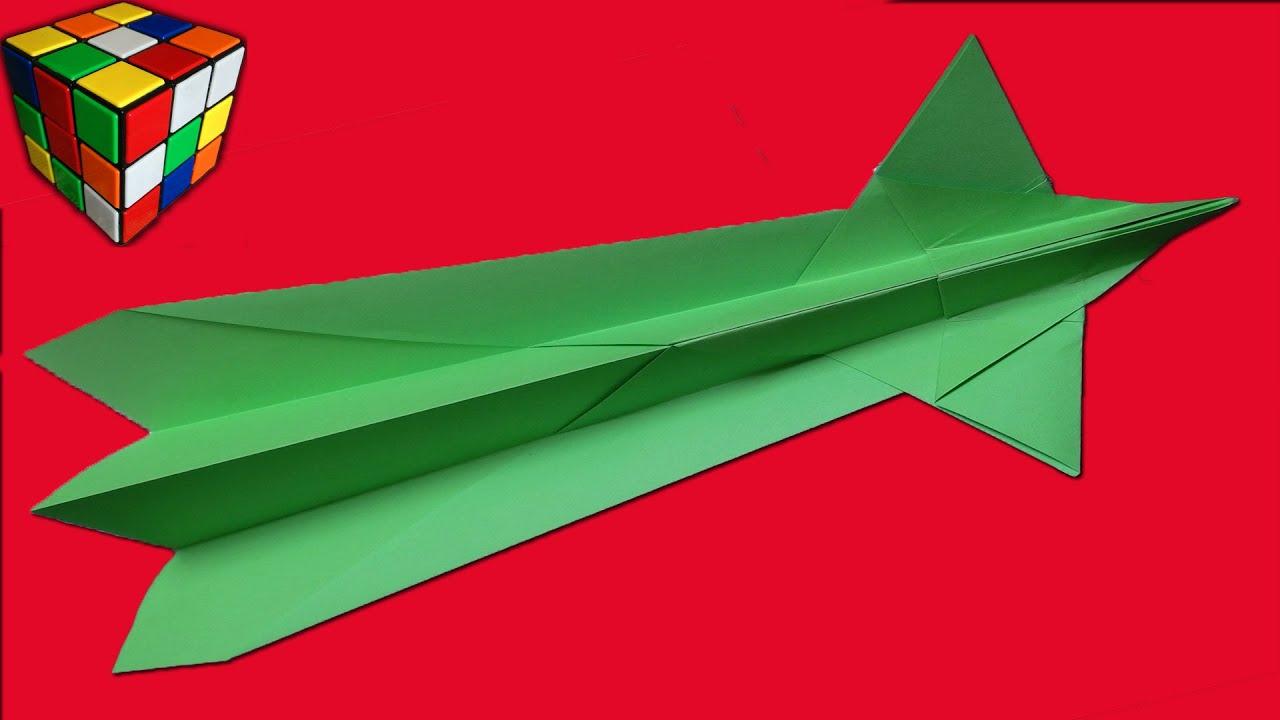 Как сделать самолётик своими руками из бумаги