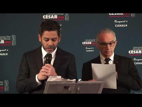 Conférence de presse : Les nominations de la 43ème cérémonie des César