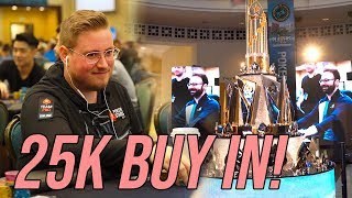 BIGGEST AND SCARIEST Day of My Life: $25,000 Buy In PSPC
