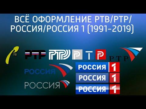 ВСЁ ОФОРМЛЕНИЕ РТВ/РТР/РОССИЯ/РОССИЯ 1 (1991-2019)