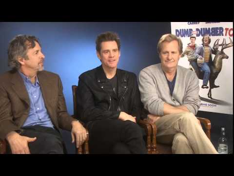Dumb and Dumber To - Interview with Jim Carrey, Jeff Daniels & Peter Farrelly Mp3