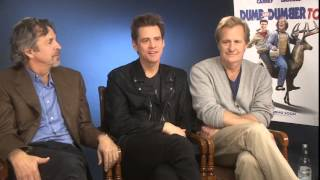 Dumb And Dumber To - Interview With Jim Carrey, Jeff Daniels & Peter Farrelly
