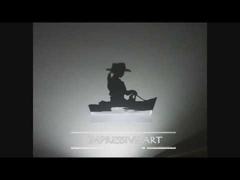 How to Make Amazing Art of Shadows, Paper-cut light