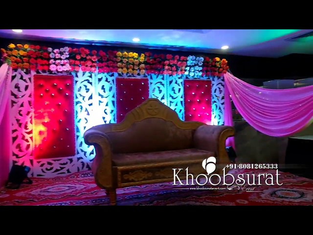 Wedding Decor, Engagement Stage #Khoobsurat events