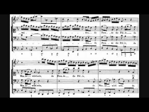 Bach  Cantata 140: Wachet auf, ruft uns die Stimme, BWV 140 1731