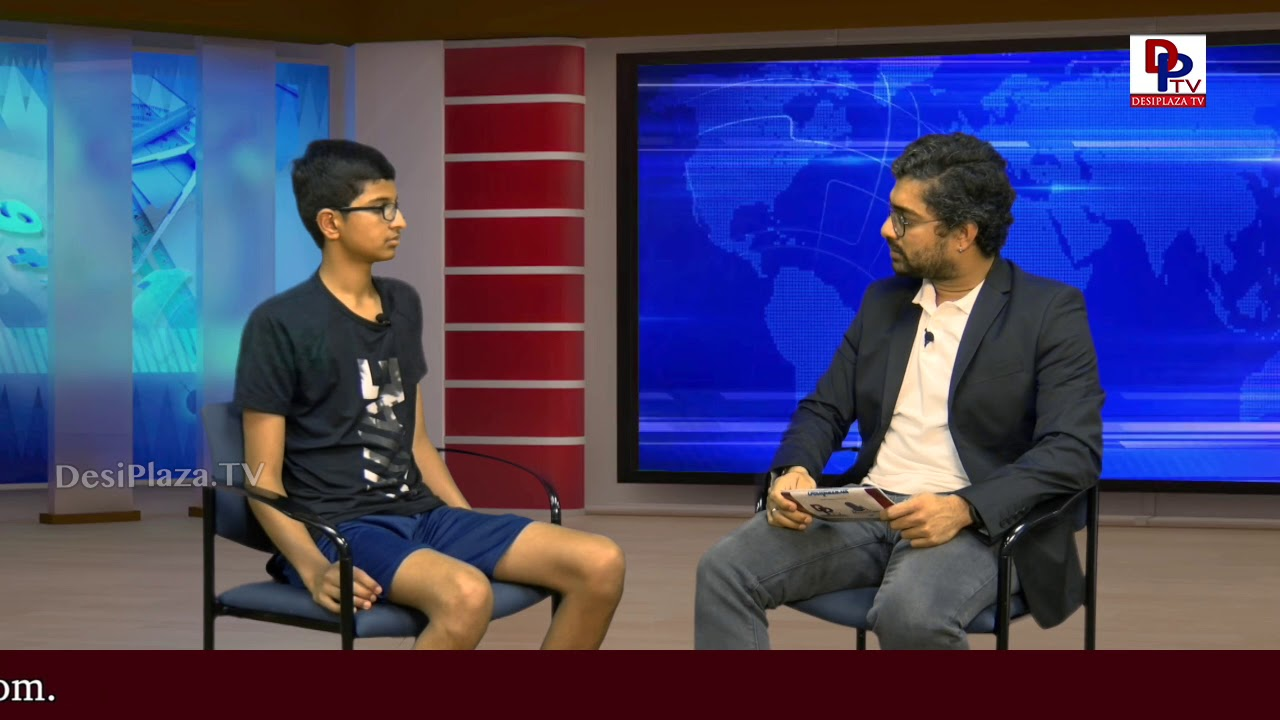 Exclusive Interview - Karthik Nemmani - 2018 National Scripps Spelling Bee winner : DesiplazaTV