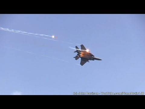 2017 Wings Over Wayne Airshow - USAF Combines Arms Demo