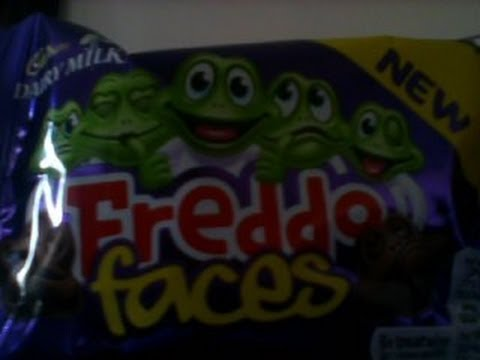 Cadbury Dairy Milk FIRST REVIEW Freddo Faces NEW