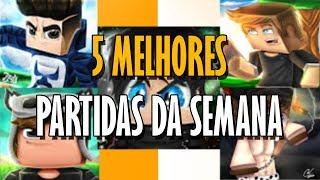 TOP 5 MELHORES PARTIDAS DE SKYWARS(SKY MINIGAMES)