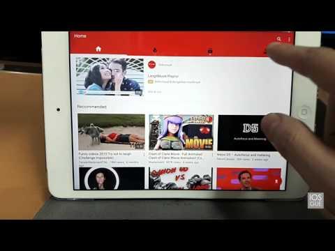 Cara Download Video dari Youtube di iPhone, iPod dan iPad