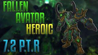 Fallen Avatar Heroic - Enhancement PoV 7.2 PTR