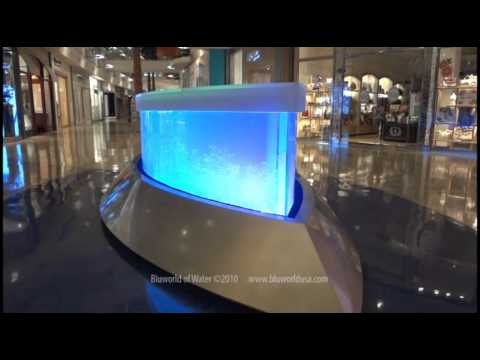 Custom Acrylic And Glass Bubble Wall At The Mall At