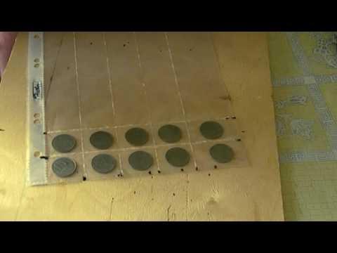 Альбом для монет из картона своими руками