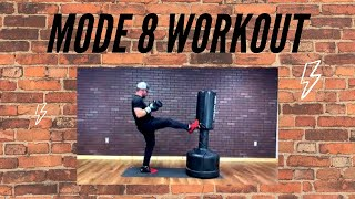 Mode 8 Workout with Johnny - Upper Body Focus - Home Workout!