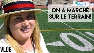 VIP AU FOOTBALL À MONTRÉAL - Sport, déco et une visite trop horrible! 😱 VLOG