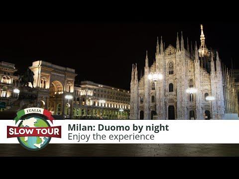 Milan: Duomo by night | Italia Slow Tour