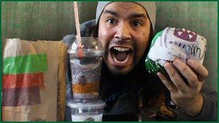 Burger King | Nightmare King Review | Fozen Scary Black Cherry Bonus!!
