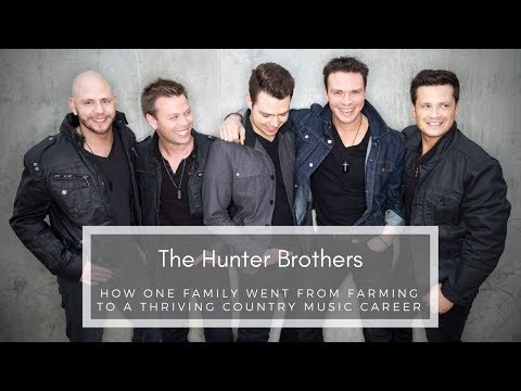 Episode 92: How One Family Went from Farming to a Thriving Country Music Career: The Hunter Brothers