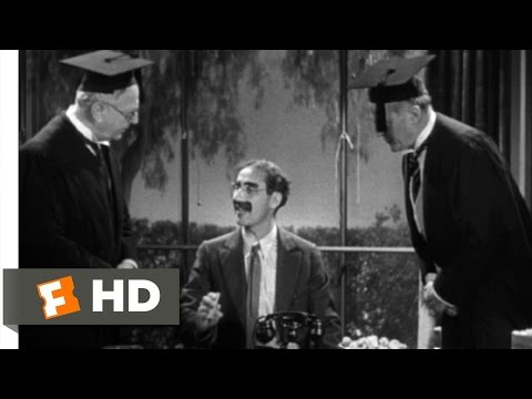 Horse Feathers (5/9) Movie CLIP - Prof. Wagstaff's Office (1932) HD