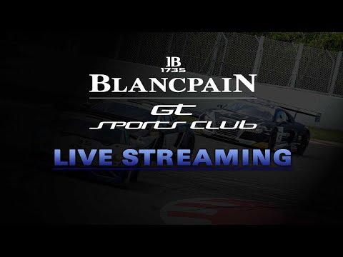 LIVE - Qualifying Race  - Hungary - Blancpain Gt Sports Car Club - English