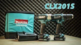 Combo máy khoan và máy bắt vít dùng pin Makita CLX201S