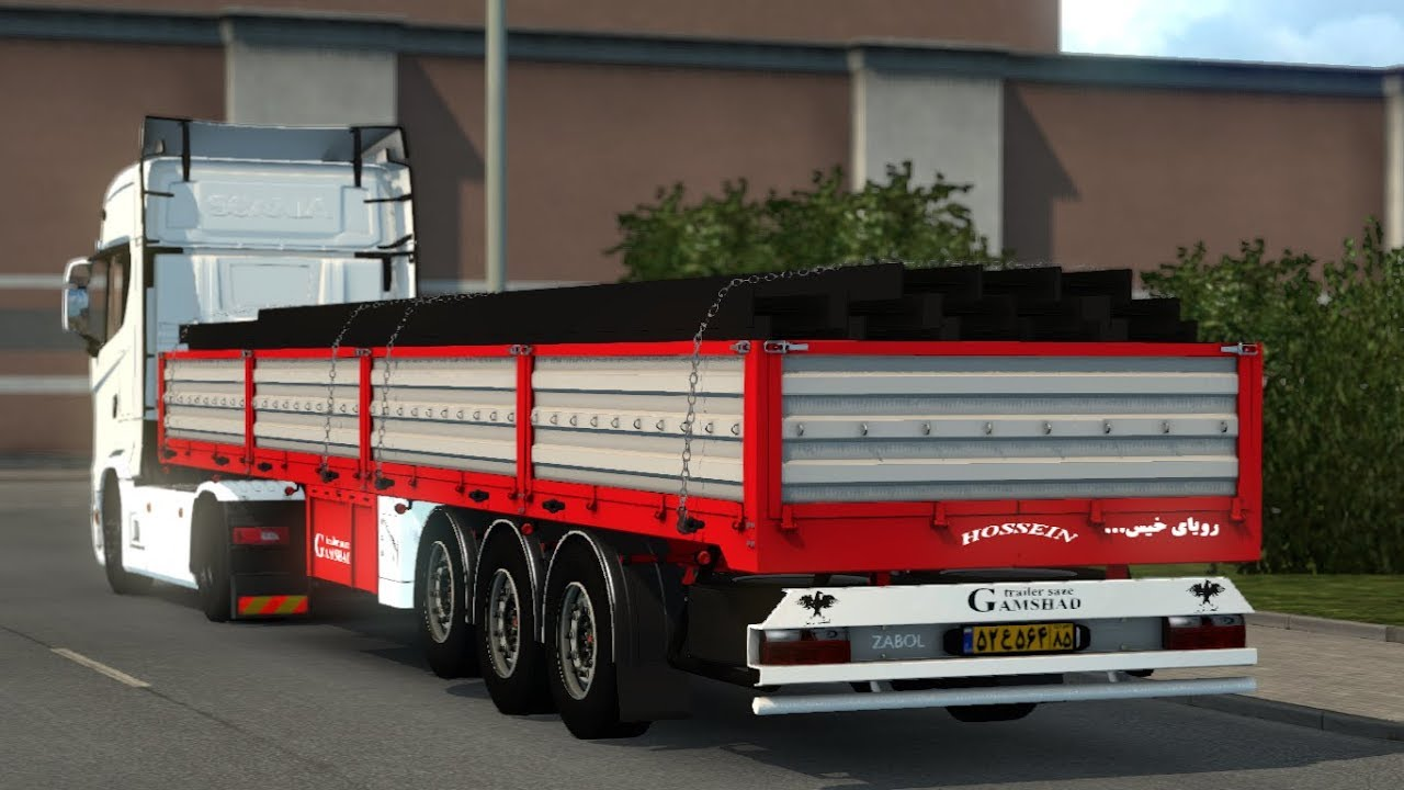 Euro Truck Simulator 2 Mods Labe Gmz V2 0 1 28 Youtube