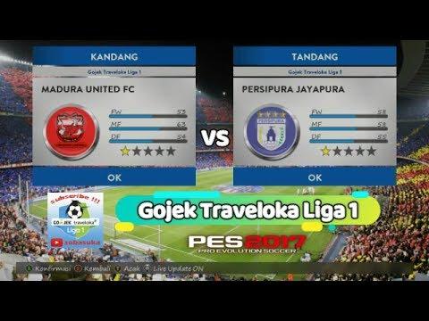 Madura United vs Persipura Jayapura (LIVE) PC - YouTube