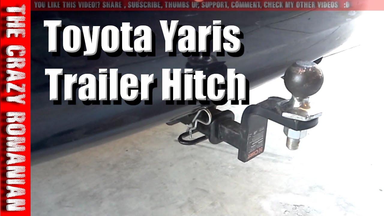 2012 yaris trailer hitch