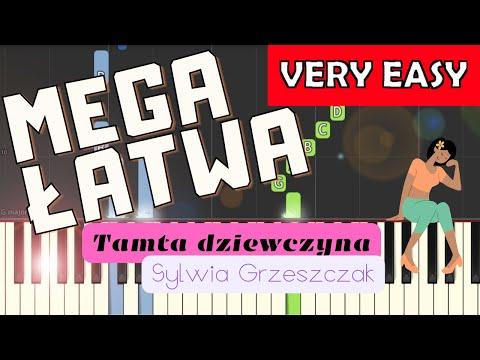 🎹 Tamta dziewczyna (Sylwia Grzeszczak) - Piano Tutorial (MEGA ŁATWA wersja) 🎹