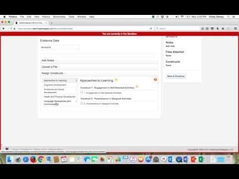 NC K-3 Formative Assessment Online Platform Sandbox