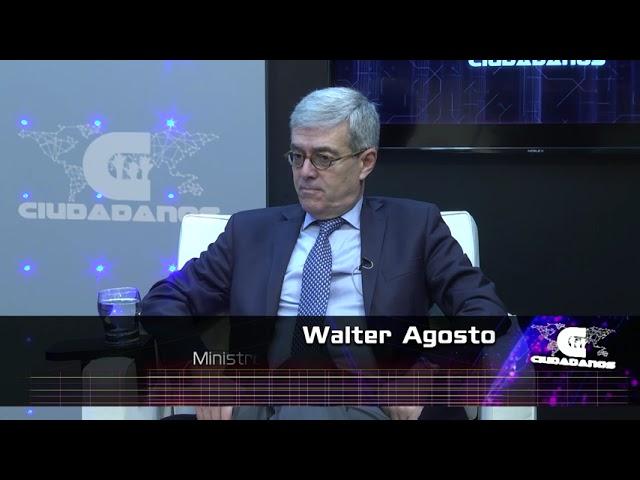 (Anticipo) Walter Agosto, ministro de Economía sobre inversión en  pandemia y compras vacunas